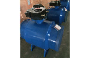 Worm Gear Fully Welded Trunion Ball Valve pictures & photos