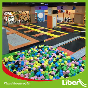 Supplier Indoor Trampoline Park with Soft Wall Climbing pictures & photos