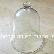 Mouth Blown Glass Dome Cake Cover (B-P010) pictures & photos