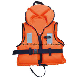 Approval 12402 Standard Marine Solas Life Jackets with Collar pictures & photos
