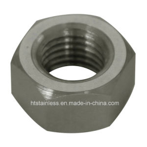 DIN934 254smo 1.4547 Uns S31254 Hex Nut pictures & photos