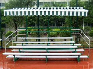 Factory Price Aluminium Used Used Indoor Gym Bleachers pictures & photos