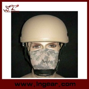 Airsoft Mich 2001 Glass Fiber Reinforced Helmet FRP Tactical Helmet Wargame Helmet pictures & photos