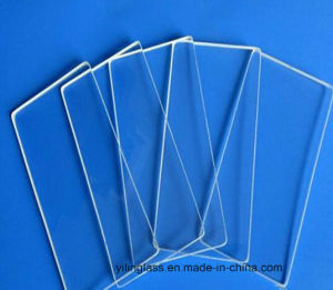 3mm 4mm Low Iron Tempered Glass Electric Meter Glass Cover pictures & photos