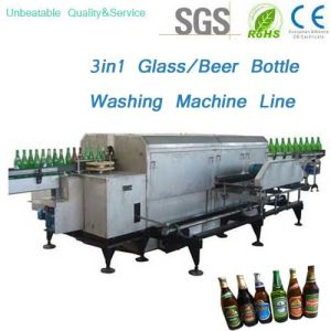 Beer Bottle Washing Filling Capping Machine Line