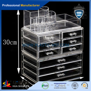 Acrylic Beauty Clear Case Makeup Display Box Cosmetic Organizer pictures & photos