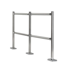 Supermarket Pedestrian Queue Barrier/Metal Barrier/Chrome Barrier (SY-B-01) pictures & photos