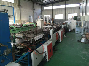 Used Hot Sale Fabric Plastic Film Flat Bag Forming Machine pictures & photos