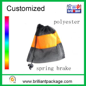 Custom Logo Polyester Drawstring Bag Drawstring Pouch Bag pictures & photos