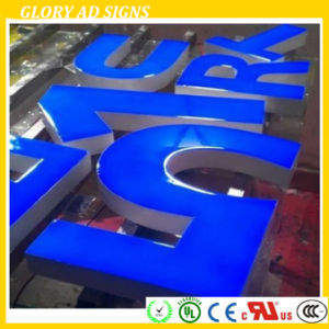 Face Lit Resin Letter Sign Epoxy Logo Sign pictures & photos