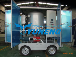 Zja Series Double Stage High Vacuum Transformer Oil Purification Equipment (Mobile Type) pictures & photos