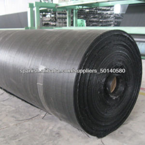 Plastic Woven Geotextile for Weed Control pictures & photos