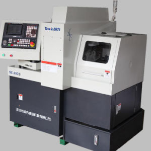 Swiss Type CNC Automatic Lathe Sz-20c3 pictures & photos