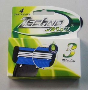 High Quality Triple Blade System Razor Compete with Match 3 pictures & photos