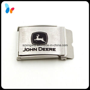 Designer Metal Side Release Silver Belt Buckle pictures & photos