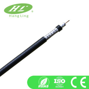 95% Coverage Coaxial Cable RG6 with CE, RoHS Certification