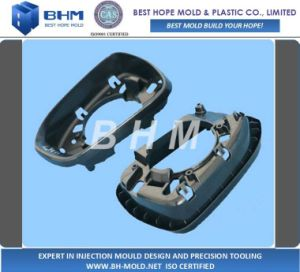Automotive Back Mirror Cover Plastic Injection Mould pictures & photos