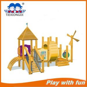 Wooden Outdoor Amusement Park Kids Playground pictures & photos
