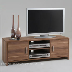 Contemporary Wooden TV Stand in Low Price (HF-EY08254) pictures & photos