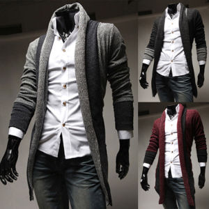 Mens Casual Lapel Slim Fit Cardigan Sweater Mens pictures & photos