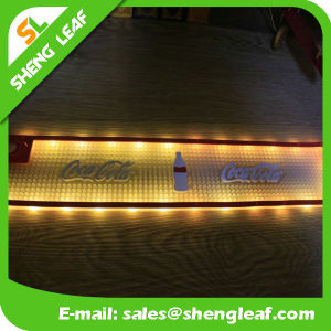 Custom Waterproof PVC Rubber LED Bar Mat pictures & photos