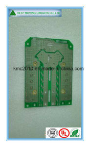 High Quality Blue Peelable Mask 2-Layer Rigid Fr4 PCB Board pictures & photos