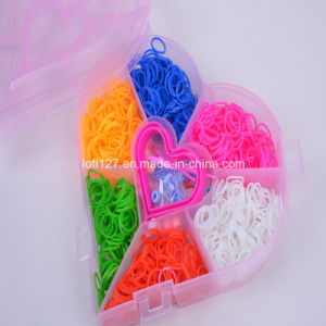 Pink Modelling, Love, Rubber Band, Rainbow Weaving Machine, Fashion Baby Toys pictures & photos