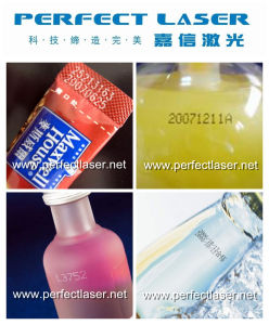 Expiration Date Inkjet Printing Machine for Bottle Plastic Pipe pictures & photos