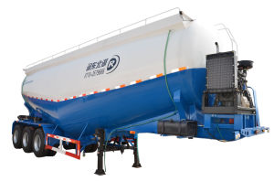40cbm Tank Semi Trailer for Cement Transportation