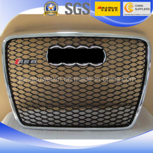 "Black Car Auto Front Grill for Audi RS6 2005-2012"" pictures & photos"