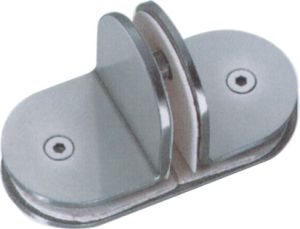 Square 180 Degree Bathroom Glass Fitting Clamp (CR-G29) pictures & photos