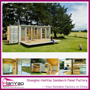 2015 Factory Supply Steel Structure Luxury Prefab House Containers pictures & photos
