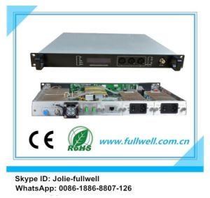 100km, Fullwell 1550nm CATV External Modulation Optical Transmitter with Long Distance (FWT-1550EH -2X8) pictures & photos