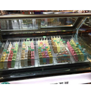 Popsicle Display Cabinet /Gelato Popsicle Display Israel pictures & photos