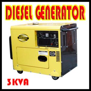 Hot Sale Generator in Middle Market 3kw, 5kw, 6kw Genset pictures & photos