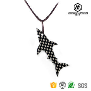 New Fashion High Quality Carbon Fiber Necklace Small Pendant pictures & photos