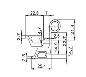 Luxuriant in Design Hinge Hl6225 for Aluminum Door & Window pictures & photos