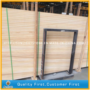 Wooden Vein Yellow Sandstone for Slabs and Tiles pictures & photos