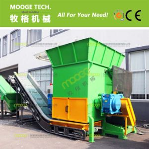 High capacity baled film shredder machine pictures & photos
