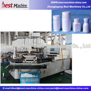 2016 Double Verticalpole and Single Horizontal Injection Blow Molding Machine pictures & photos