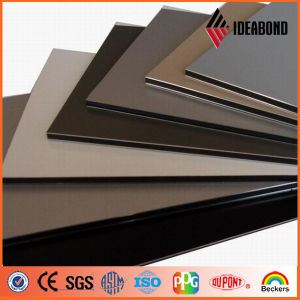 Ideabond Exterior Wall Decorative PVDF Aluminum Composite Panel (AF-400) pictures & photos
