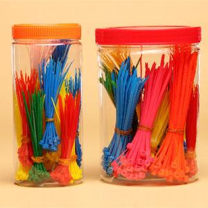 Multi Colors and Package Self-Locking Nylon Cable Ties Zip Ties