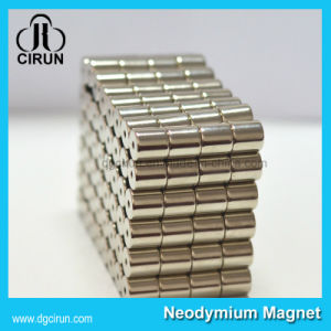 Customized Cylinder N52 Super Strong NdFeB Neodymium Magnet pictures & photos