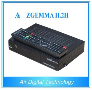 Zgemma H2s DVB S2 + DVB S2 with Dual Core CPU Multi-Media Satellite TV Receiver pictures & photos
