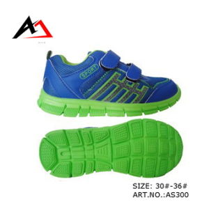Sports Shoes Running Footwear Top Quality for Children (AKAS300) pictures & photos