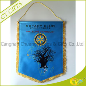 Custom Hanging Silk Banner for Promotion Gifts
