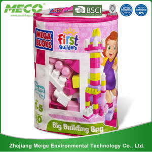 Laminated Non Woven Toy Storage Packaging Bag (MECO1118) pictures & photos