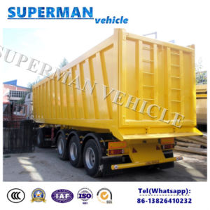 48 Cbm Heavy Duty Tipping Cargo Transport Semi Trailer/ Dumper pictures & photos