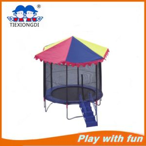 Factory Price Trampoline Park Indoor Commercial Square Trampoline for Sale Txd16-10802 pictures & photos
