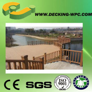 Good Quality Wood Grain Composite WPC Fencing pictures & photos